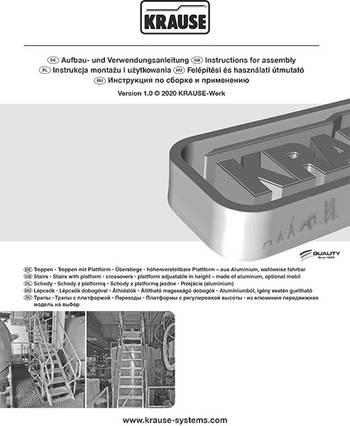 Инструкции по монтажу и эксплуатации для спецконструкций