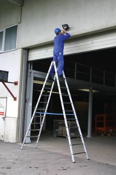Пример использования Двухсторонняя лестница