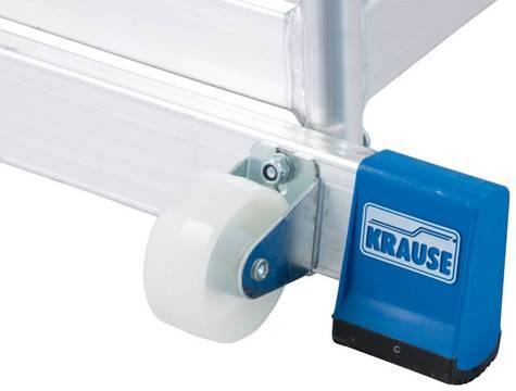 Монтажная передвижная подставка. Два вмонтированных ролика и поручень обеспечивают безопасное и удобное перемещение