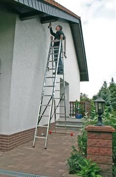Пример использования Шарнирная универсальная лестница Dubilo