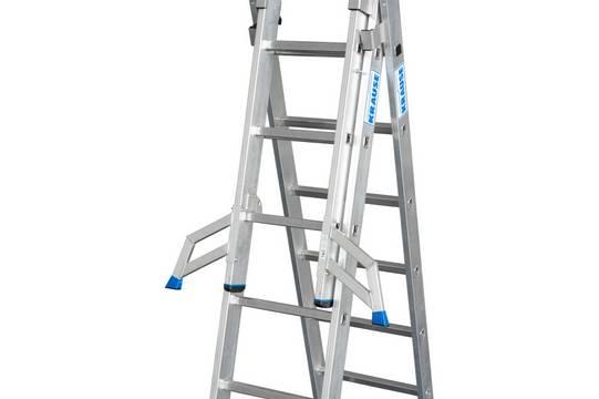 Универсальная лестница +S.  Trigon-траверса для отдельного использования съемной секции