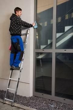 Пример использования Приставная лестница
