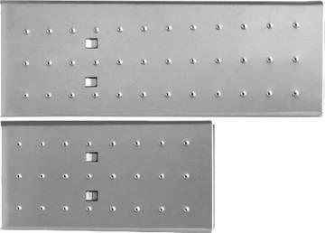 Для навешивания на универсальную шарнирную лестницу CORDA 4х3, для использования её в качестве рабочей платформы или полки.