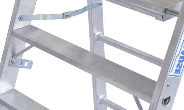 Профессиональная подставка. Двойная функция: подставка с возможностью крепления помоста (длиной 1,5-2 м) для увеличения рабочей площади