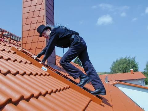 Пример использования Лестница для крыши