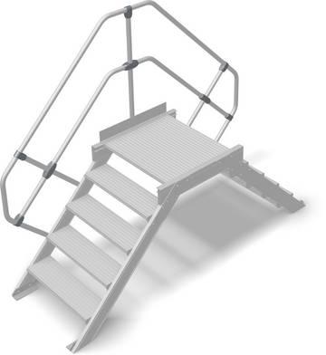 Стационарное или передвижное средство безопасного преодоления препятствий в соответствии с DIN EN ISO 14122.