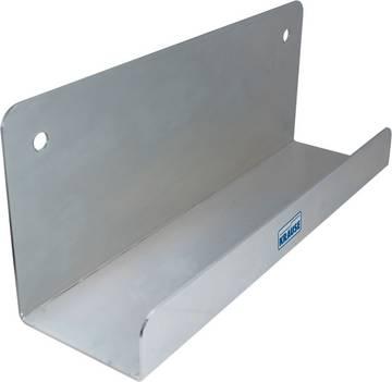 Для безопасного и компактного хранения лестниц на стене