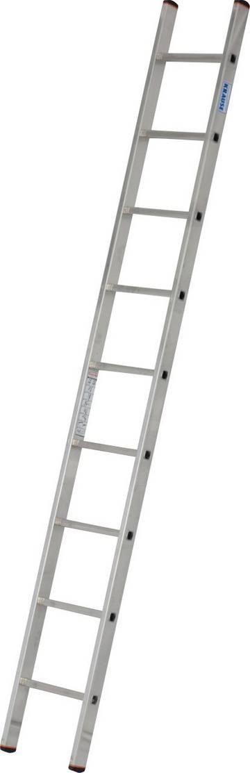 Универсальная алюминиевая приставная лестница для всех видов деятельности.