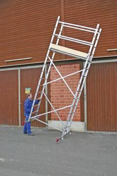 Пример использования Монтажные подмости