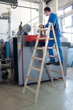 Пример использования Двухсторонняя лестница дерев.