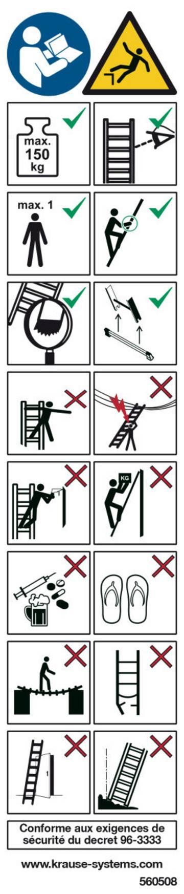Для этикетирования лестниц и подставок