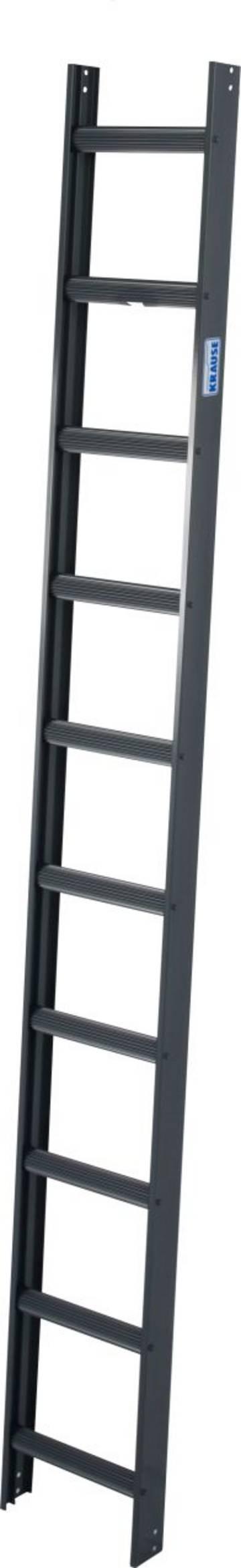 Алюминиевые стационарные лестницы могут оставаться на крыше длительное время.