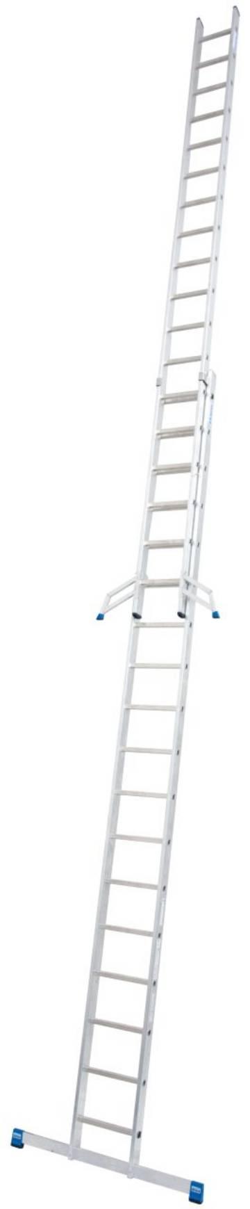 Двухсекционная лестница для профессионального использования.