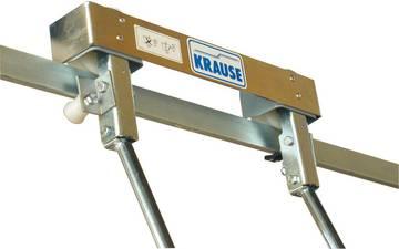 Блок роликов стеллажной лестницы для Т-шины