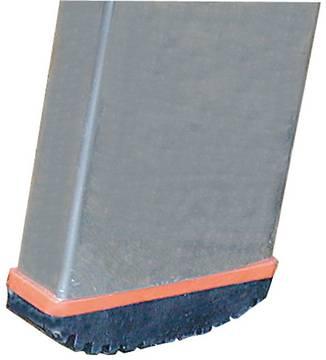 Двухсекционная выдвижная лестница Fabilo. Опорная заглушка на боковину Safetycap