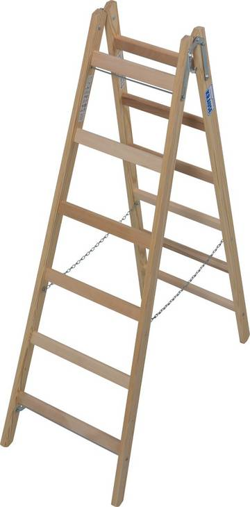 Классическая лестница для различных работ. Востребована малярами и электриками.