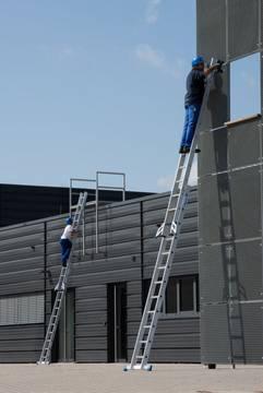 Пример использования Раздвижная лестница +S