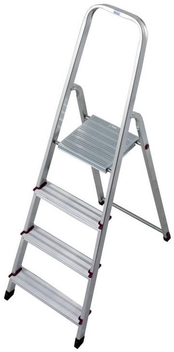 Компактная алюминиевая стремянка для проведения различных работ в помещениях