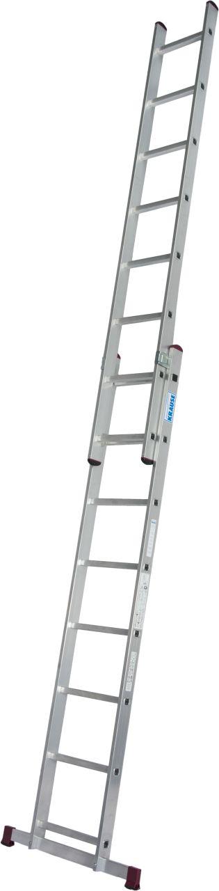 Двухсекционная алюминиевая выдвижная лестница
