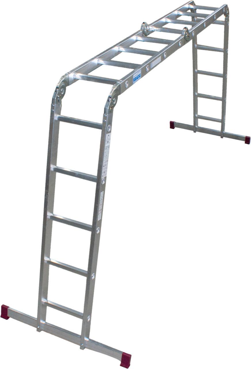 Универсальная шарнирная лестница. Универсальная шарнирная лестница. Легко и компактно складывается