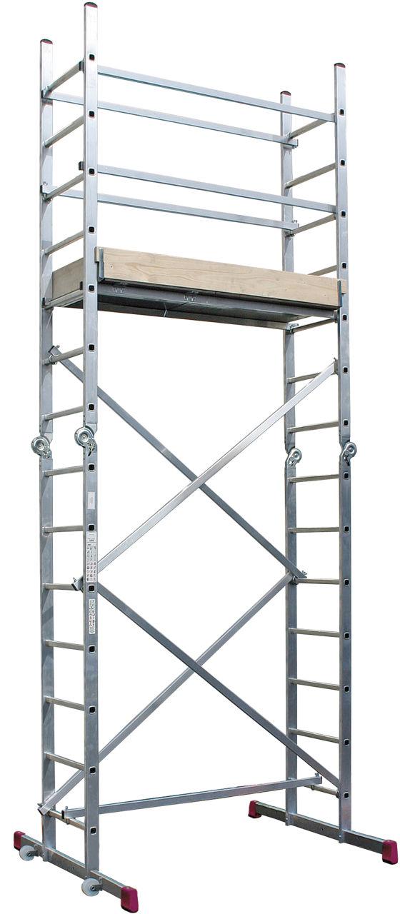 Шарнирные подмости. Используются как подмости или лестница<br>