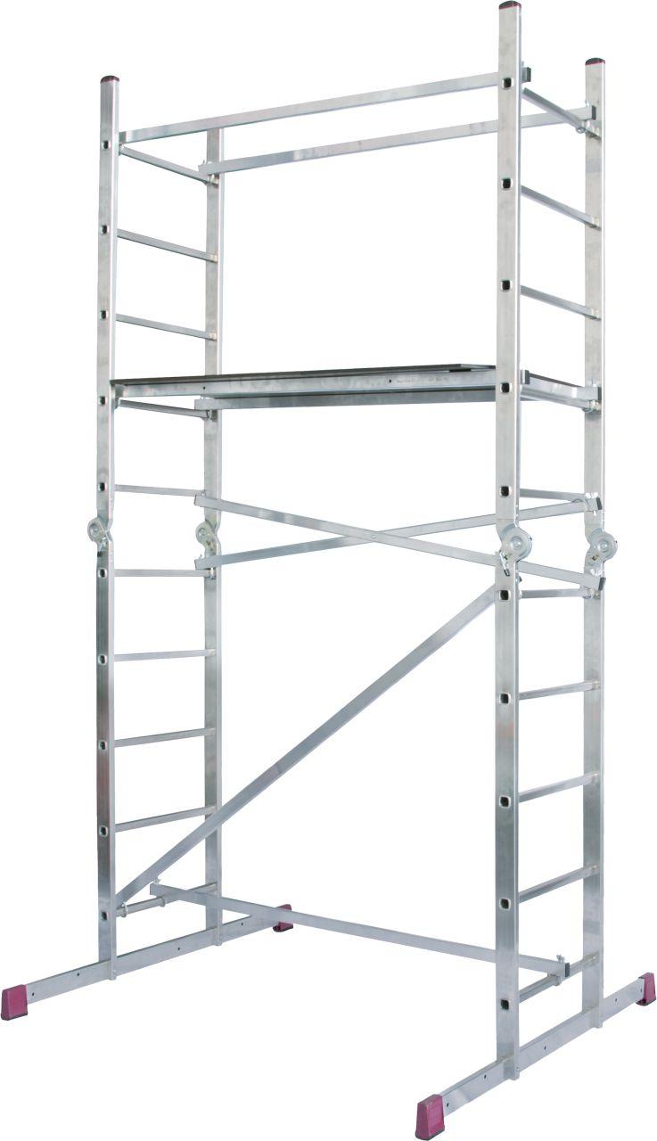 Шарнирные подмости-Универсальная система лестниц-подмостей