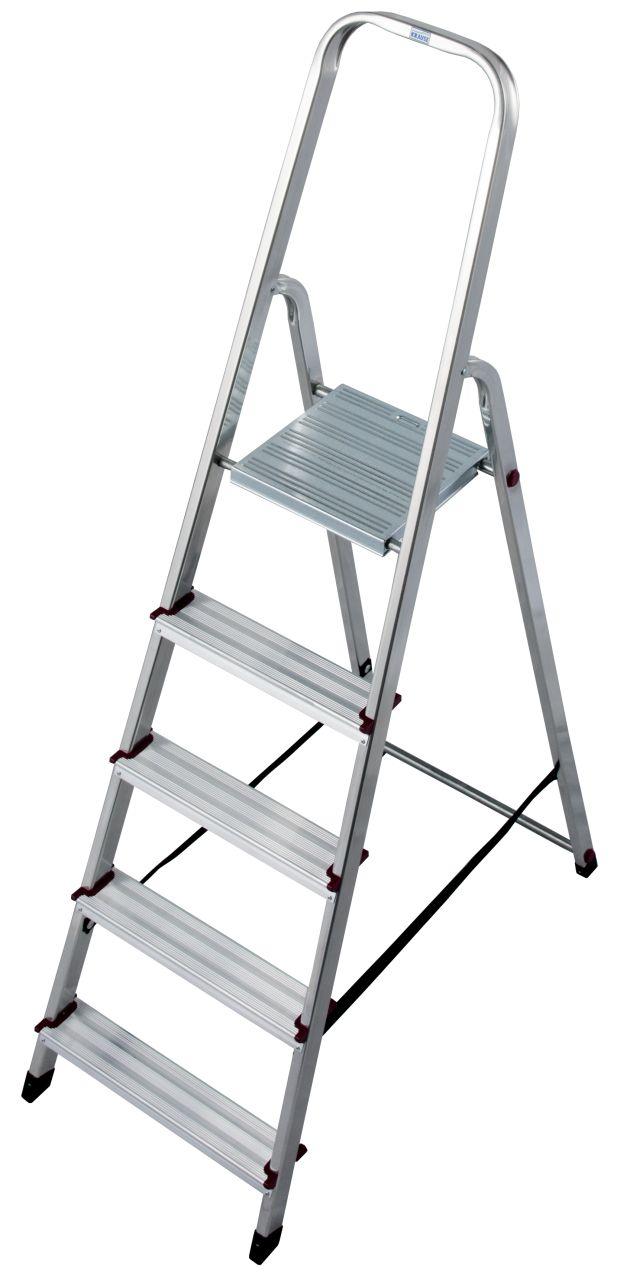 Стремянка. Компактная алюминиевая стремянка для проведения различных работ в помещениях