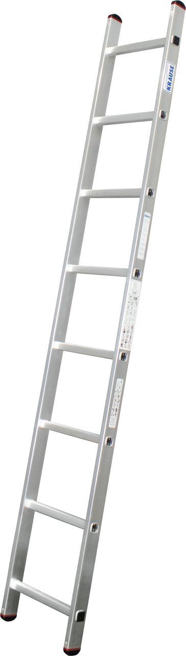 Приставная лестница с перекладинами. Легкая односекционная приставная лестница