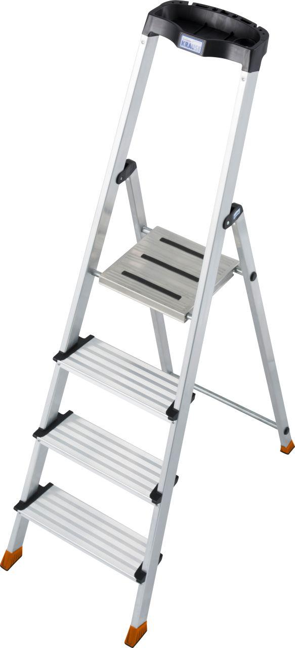 Стремянка Sepuro. Работая на комфортной стремянке с широкими (125 мм) ступенями Вы не будете уставать.