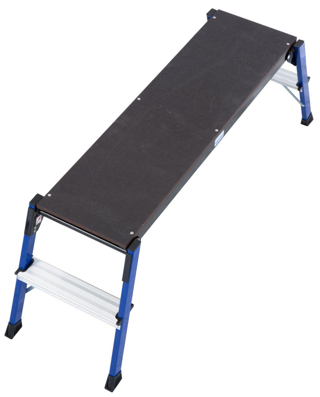 Рабочая подставка StepTop. Складная рабочая подставка идеально подходит для всех работ, требующих большую площадь опоры.