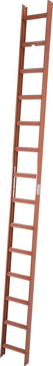 Стационарные лестницы для крыши (алюминий неокрашенный). Алюминиевые стационарные лестницы могут оставаться на крыше длительное время.