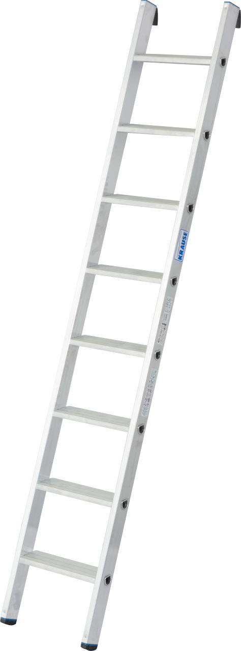 Приставная лестница. Универсальная алюминиевая приставная лестница со ступенями для удобного и безопасного использования.