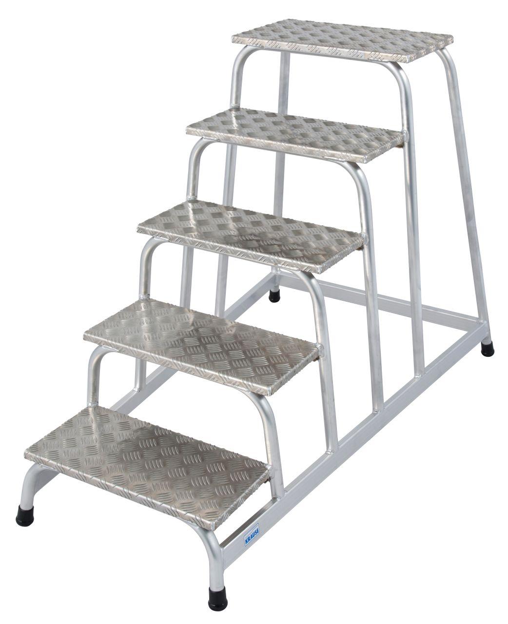 Монтажная подставка. Прочная монтажная подставка из алюминия, хорошо зарекомендовавшая себя в условиях повышенной опасности скольжения.