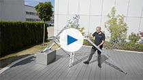 Видеообзор KRAUSE универсальная лестница с функцией установки на лестничных маршах KRAUSE