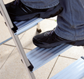 KRAUSE Multigrip System – На ступенях шириной 100 мм удобно стоять