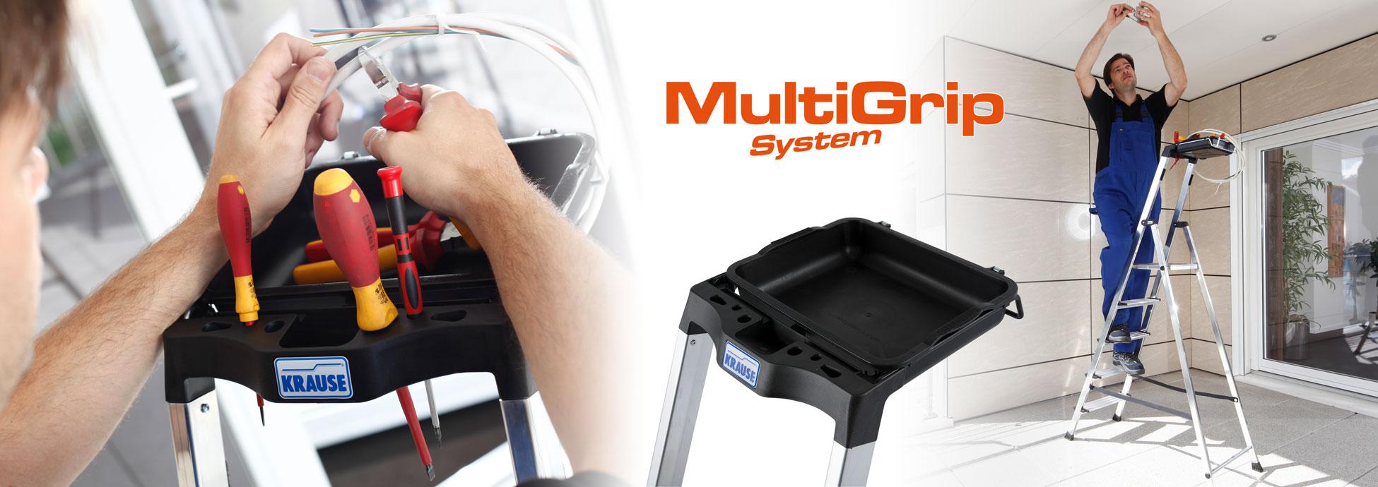 Инновационная Система KRAUSE MultiGrip