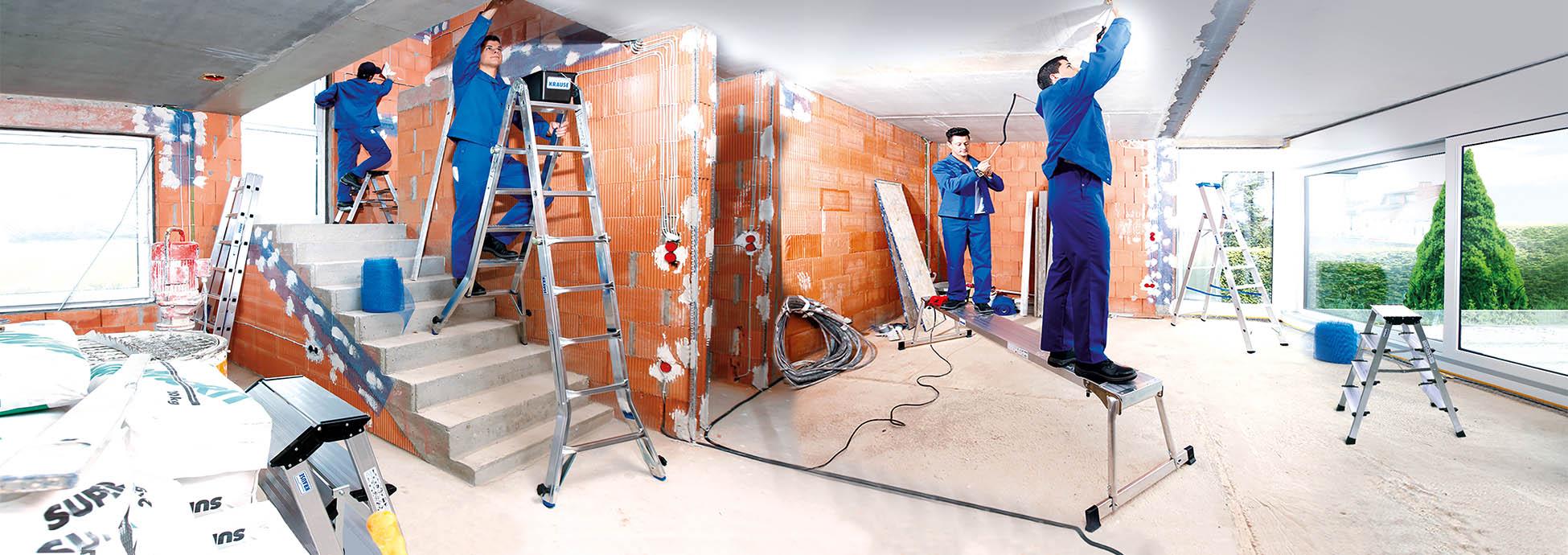 Продукция KRAUSE из алюминия - Безопасность и большой ассортимент