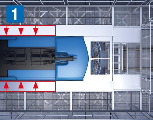 Боковые рабочие платформы с регулировкой высоты – Телескопическая регулировка платформы